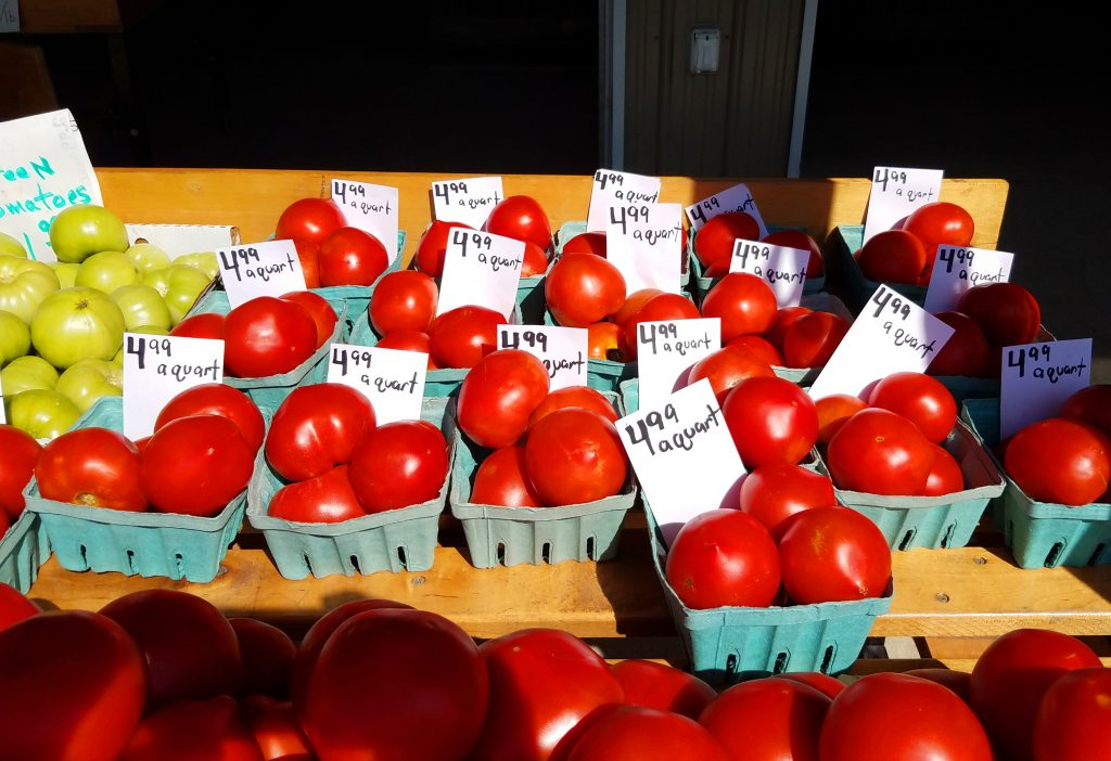 jersey tomatoes salem county farm market june 2017